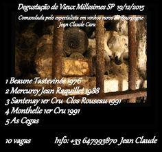 Mundus Vinus: Amanhã... Degustação de ``Vieux Millesimes`` em  S...