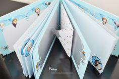 """FanyCraft: Книга за пожелания на тема """"Замръзналото кралство"""" и за Йоана / Guest book / Photo album / Frozen theme"""