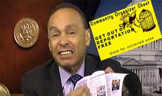 Dem Rep passes out 'get out of deportation free' cards to Obama's amnesty illegals.