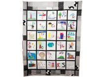 "French Kinder ""ABC Quilt"" 2013 Eisenhower Class Project at the Fiestivale Live Auction"