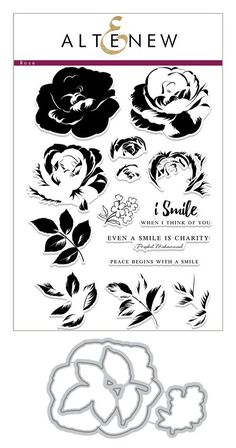 Build-A-Flower: Rose Layering Stamp & Die Set