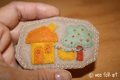 Little House Brooches | Wee Folk Art