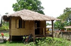 Architecture was ambitious back in the early century. Bamboo Plant Care, Lucky Bamboo Plants, Filipino Architecture, Bamboo Architecture, Vernacular Architecture, Bahay Kubo Design Philippines, Green Resort, Bamboo House Design, Hut House