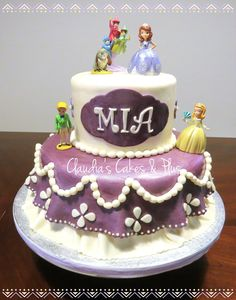 Sofia The First Cake!!