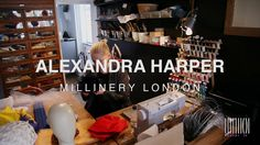 Interview: Take a step into the #millinery studio of Alexandra Harper #Millinery