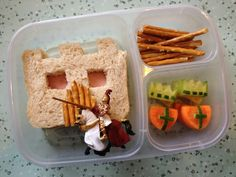 Although sometimes her son requests special themes, which might take a little longer. | This Mum Makes The Most Amazing Lunchbox Art For Her Kid Every Day