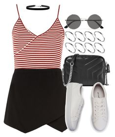 Sin título #12638 by vany-alvarado on Polyvore featuring polyvore, fashion, style, Topshop, Yves Saint Laurent, ASOS and clothing