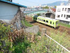 平成筑豊鉄道の車両です。かわいらしいですね。