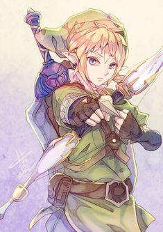 The legend of Zelda fan art - Link