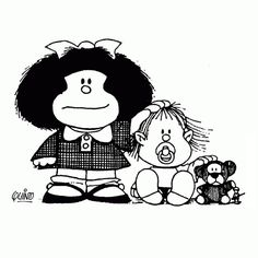 Coloriage Dessins. Mafalda 6
