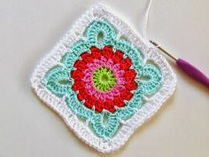Granny square nursing home lap blanket