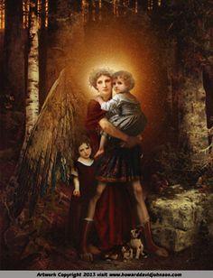 The Guardian Angel by Howard David Johnson