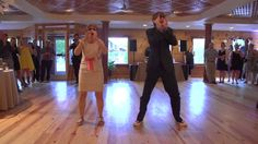 Mother and son perform epic wedding dance ....(( Making Memories, I love it))