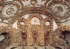 Crypt of the Capuchin Monks, Rome.  Park close by at: ParkSi Villa Borghese. Viale del Galoppatoio 33 tel. 063225934 1,800 cars, 1st-3rd hour costs 1.15 per hour, then 0.90 per hour, 14.45 for 24 hours, open 24 hours. Also very close to the Spanish steps