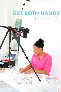 Learn how shoot, edit and print photos a computer. Use the Canon and PIXMA printer to wirelessly access your photos for crafting.