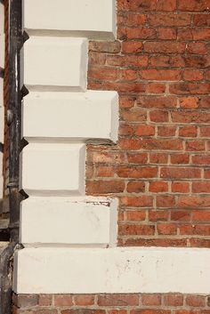 Chamfered quoins on the west front of Ham House | Flickr - Photo Sharing!