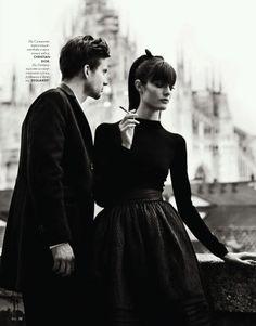 Nikolay Biryukov Photographs a 'Love Story' for Elle Ukraine September 2012