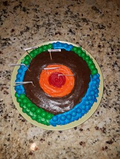 Edible layers of the earth project im thinking chocolate inner layers of the earth science project cookie cake ccuart Images