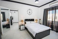 #lakberendezes #otthon #otthondekor #homedecor #homedesign #furnishings #design #furnishingideas #housedesign #decor #decoration #interiordesign #interiordecor #interiores #interiordesignideas #interiorarchitecture #interiordecorating #homedecoration #homedecorationideas #homedecorideas #monochromedesign #monochromelivingroom #monochromebedroom #monochromeinterior #monochromehome #monochromekitchen #blackandwhitedecor #blackandwhiteinterior Long Mirror, My Mirror, Wall Mounted Mirror, Monochrome Bedroom, Monochrome Interior, Black And White Interior, Interior Design, Interior Architecture, Interior Decorating