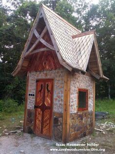 Cordwood Castle in Maine | Cordwood, Fahverk, etc. | Pinterest ... on cob homes design, log homes design, simple small house design, brick homes design, straw homes design, prefab round home design, yurt home design, earthship homes design, energy homes design,