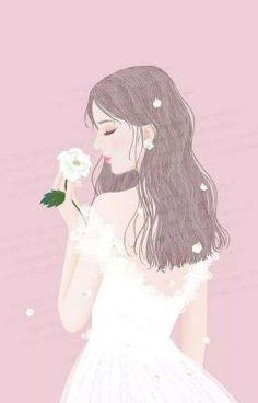 Read Girl art from the story Galeri Vector & Gambar Mentahan by la_flz (HIATUS) with reads. Anime Girl Drawings, Anime Art Girl, Cute Drawings, Cute Cartoon Girl, Cartoon Art, Art And Illustration, Cute Girl Wallpaper, Cute Art Styles, Princess Art