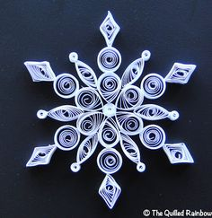 simple snowflake for Jerie and I