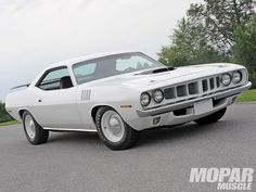 1971 PLYMOUTH HEMI CUDA CUSTOM 2 DOOR HARDTOP