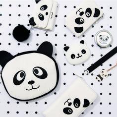 Back to school Cute Panda Cartoon, Panda Decorations, Panda's Dream, Baby Panda Bears, Kawaii Diy, Panda Art, Panda Love, Cute School Supplies, We Bare Bears