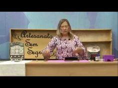 Programa Artesanato Sem Segredo (29/08/16) - Porta-Chaves e Cartas de Azulejo Português - YouTube