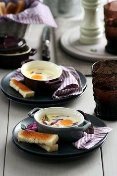 Food and Cook by trotamundos » Huevos en Cocotte (Oeufs Cocotte)