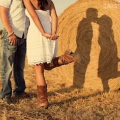 This is cute ... I'd like to step back so you couldn't see us only the shadow and sit Fletcher in the middle of it!