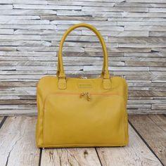 Sarah - Laptop Bag (Fits over suitcase handles) Laptop Bag For Women, Commute To Work, Water Bottle Holders, Insulated Water Bottle, Clutch Bag, Mustard, Keys, Suitcase, Shoulder Strap