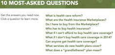 Health Care Reform Questions: 10 Most Asked Questions | Kaiser Permanente