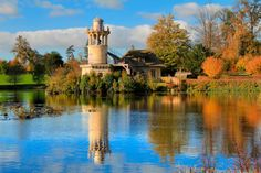 PARIS - VERSAILLES - Tour de Marlborough, at Hameau de la Reine - Petit Trianon - http://fuievouvoltar.com