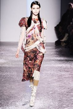 Rodarte Fall 2010 Ready-to-Wear Fashion Show - Juana Burga