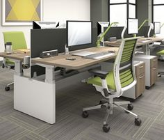 Series Bench | Height-Adjustable | Tables and Conferencing | Category | Products | Steelcase - Office Furniture