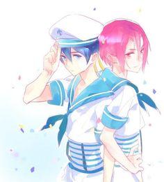 Haruka and Rin (Free!)