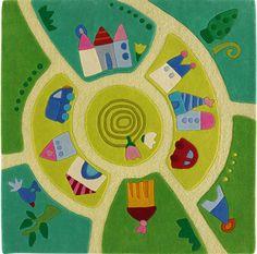 HABA Teppich Spielwelt 8093 bei Papiton bestellen.