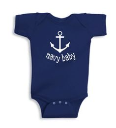 Hey, I found this really awesome Etsy listing at https://www.etsy.com/listing/166958520/navy-baby-onesie