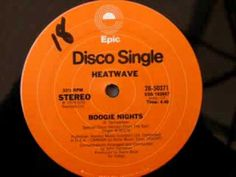 70s disco music - Heatwave - Boogie Nights 1976