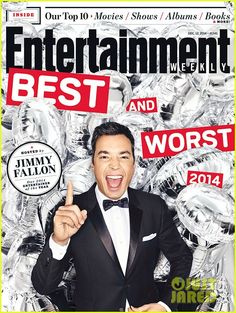 Jimmy Fallon Named Entertainer of the Year the Day His New Baby Daughter Is Born! | jimmy fallon ew entertainer of the year 01 - Photo