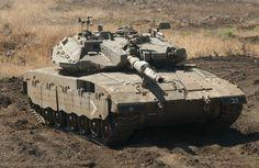 Merkava MK.IIID Main Battle Tank (Israel)
