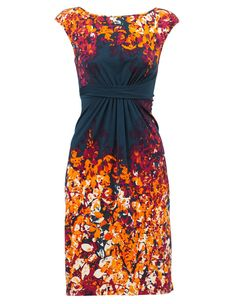 Leona by Leona Edmiston - Honeyberry Tree Boatneck Twist Dress