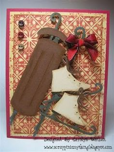 Scrappin is My Thing: September 2009  cricut-joys of the season
