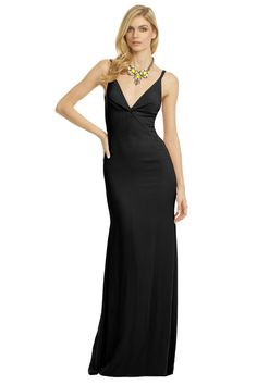 Calvin Klein Collection Cross Roads Gown