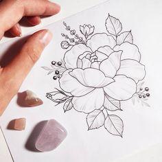 tattoo idea by Irene Bogachuk    .   #IB_SKETCHES #IB_TATTOOING #sketch #rosetattoo #tattoosketch #tattooidea #tattooart #tattoodesign #femininetattoo