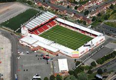 Walsall F.C. - Bescot Stadium - 11.300 tilskurer