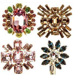 Broches mix S/S 2016 Crown, Jewelry, Corona, Jewlery, Jewerly, Schmuck, Jewels, Jewelery, Crowns