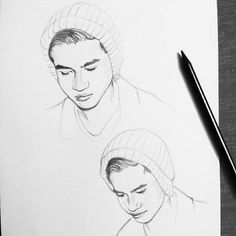 5sos Fan Art, One Direction Art, Pop Punk Bands, Casual Art, Drawing Prompt, Art Drawings Sketches, Artist At Work, Art Inspo, Black And White