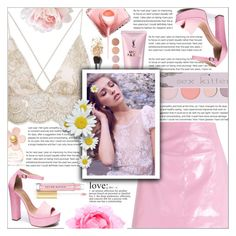 """Pastel: Fairy Dust"" by mariiaax ❤ liked on Polyvore featuring Miss Selfridge, 100% Pure, Yves Saint Laurent, Deborah Lippmann, Marc Jacobs, Chinese Laundry, Nude, WALL and Kevyn Aucoin"